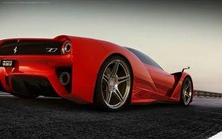 Фото бесплатно огни, красные, машины