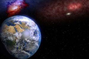 Фото бесплатно космос, земля, галактики