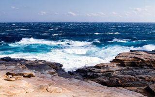 Бесплатные фото море,океан,вода,берег,набережная,камни. волны,пена