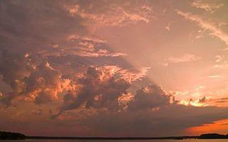 Бесплатные фото облака,тучи,небо,солнце,вода,озера,земля