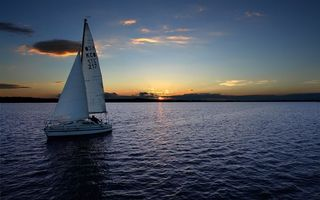 Фото бесплатно парусник, лодка, залив