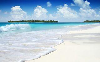 Бесплатные фото пляж,берег,море,волны,остров,лето,солнце