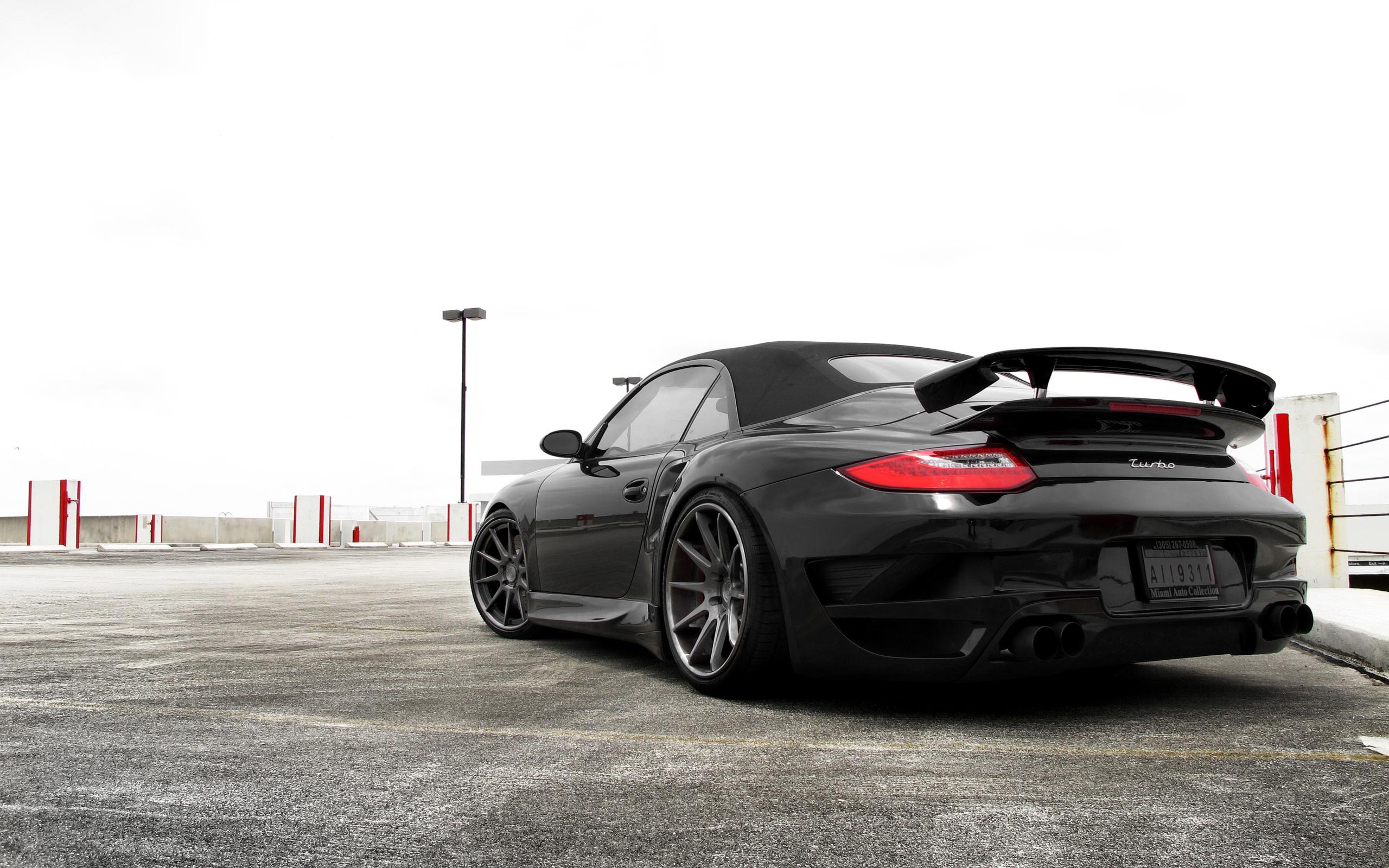 Porsche черная тюнинг бесплатно