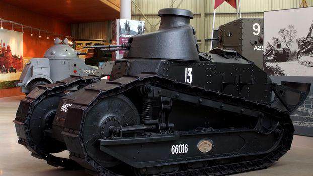 Фото бесплатно танк, черный, старинный