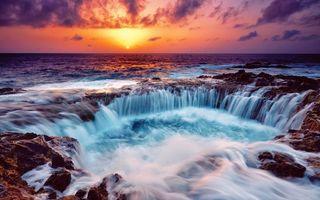 Фото бесплатно восход, солнца, океан