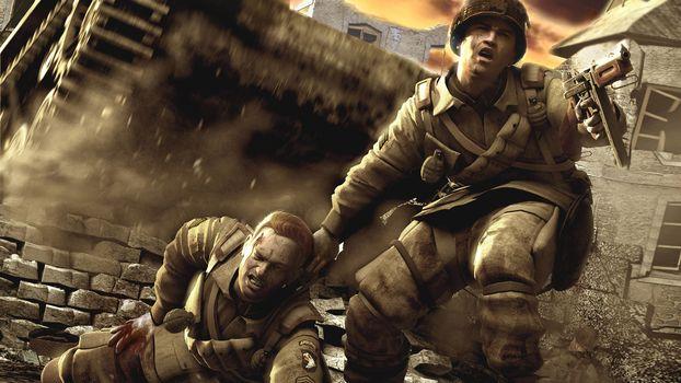 Фото бесплатно война, солдаты, раненый