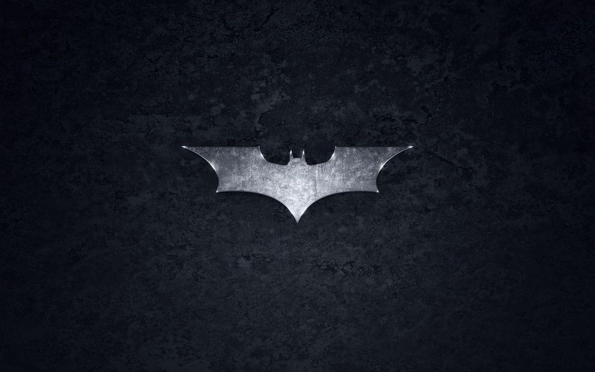 Фото бесплатно знак, бэтмен, сталь, летучая, мышь, фон, черный, минимализм, минимализм