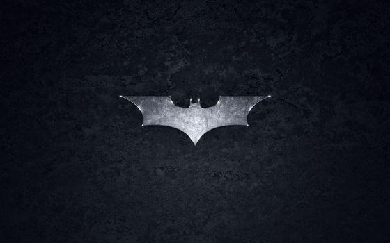 Фото бесплатно знак, бэтмен, сталь