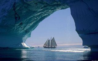 Фото бесплатно корабель, лід, океан