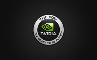 Photo free nvidia, hi-tech, dark background