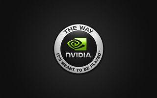 Фото бесплатно nvidia, hi-tech, темный фон