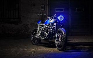 Фото бесплатно classic honda cafe-racer, мотоцикл, retro