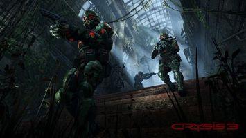 Фото бесплатно crysis 3, солдаты, экипировка