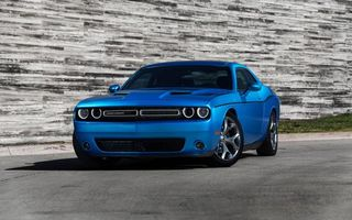 Бесплатные фото dodge,голубой,дорога,машины