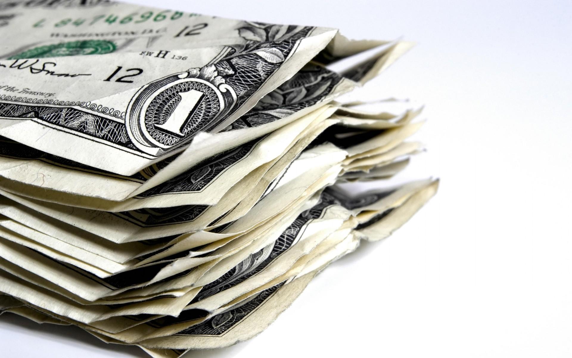 доллары, один, доллар