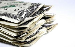 Бесплатные фото доллары,один,доллар,пачка,мятые,купюры,белый
