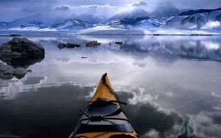 Фото бесплатно море, океан, лед