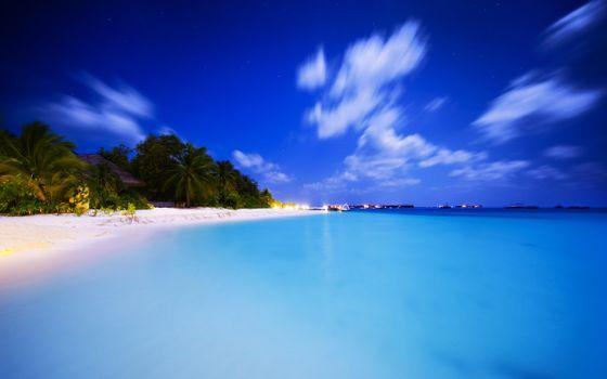 Фото бесплатно волна, остров, природа