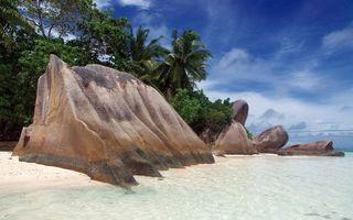 Фото бесплатно пляж, песок, белый