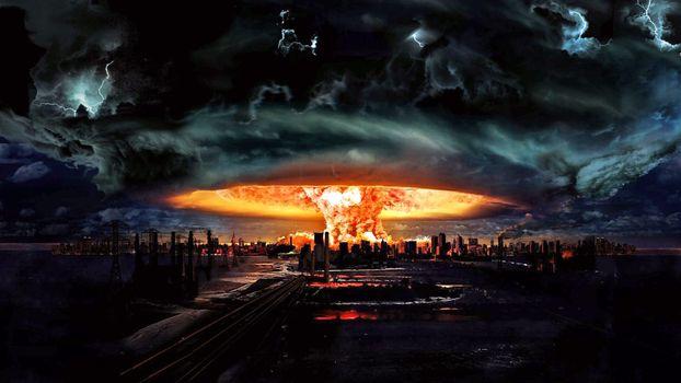 Бесплатные фото атомный,взрыв,ночь,энергия,жар,похороны,за свой,счёт,город