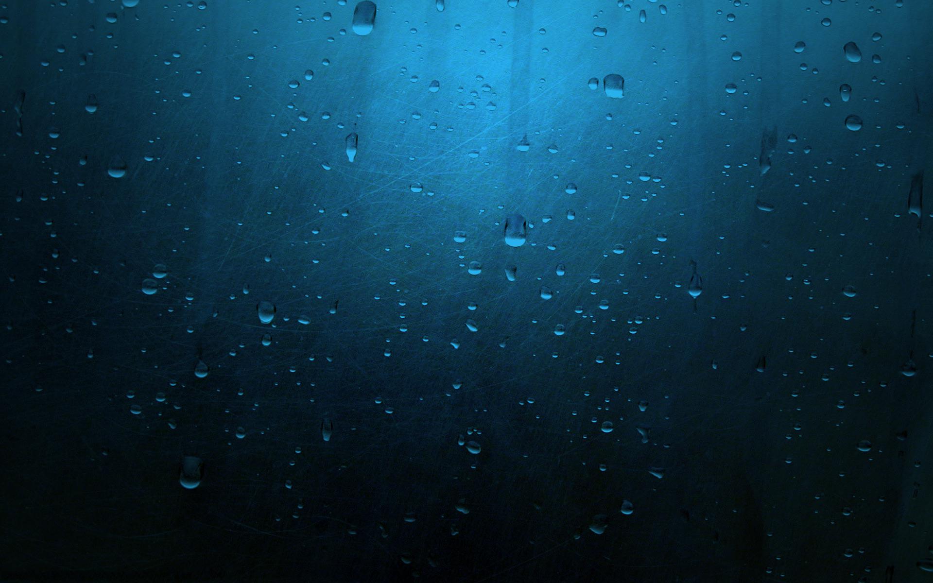 поверхность, синяя, капли