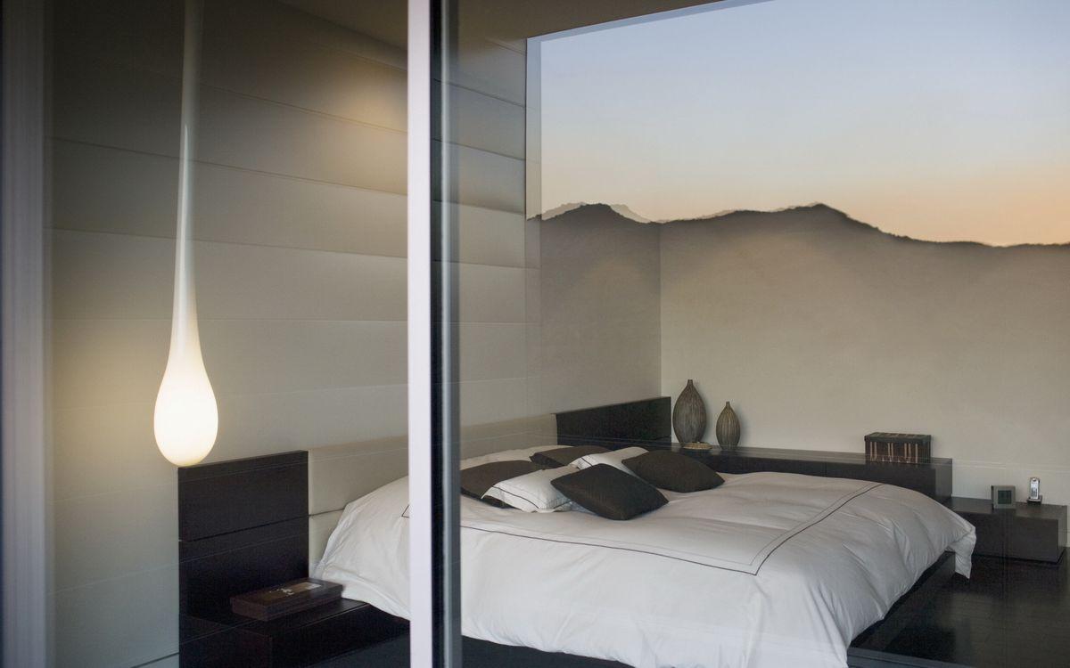 Фото бесплатно кровать, дизайн, лампа - на рабочий стол