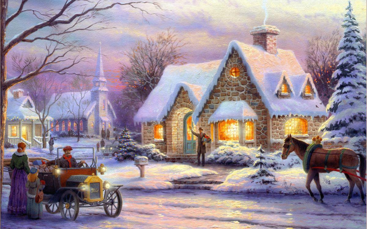 Фото бесплатно art, christmas, memories of christmas - на рабочий стол