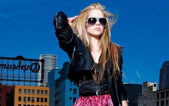 Фото бесплатно аврил, певица, блондинка