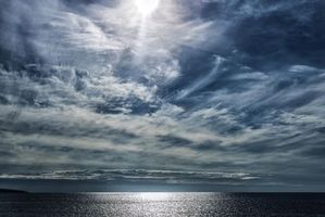 Бесплатные фото море,океан,закат,небо,пейзаж
