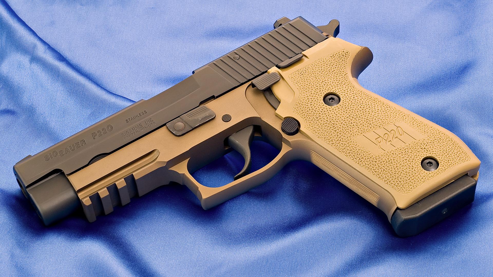 пистолет, ствол, курок