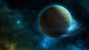 Фото бесплатно планета, газовый, гигант