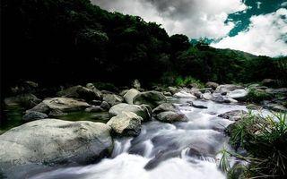 Бесплатные фото ручей,пороги,камни