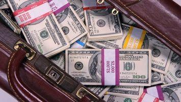 Бесплатные фото сумка,набитая,деньгами,доллары,упаковки,купюры,деньги
