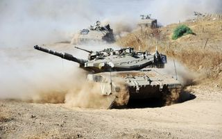Фото бесплатно танк, бтр, дорога
