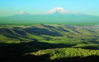 Фото бесплатно трава, рельеф, горы