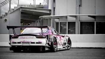 Photo free mazda rx7, track, drift
