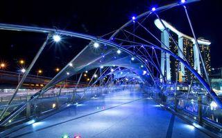 Бесплатные фото архитектура,стиль,мост,освещение,небоскреб