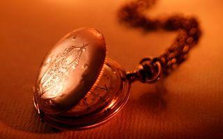 Фото бесплатно часы, круглые, цепочка