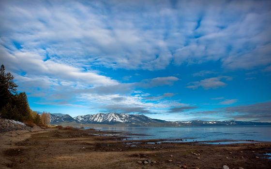 Фото бесплатно берег, океан, горы