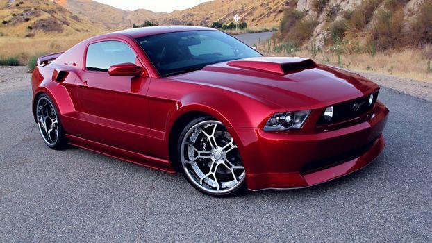 Photo free Ford, Mustang, air intake