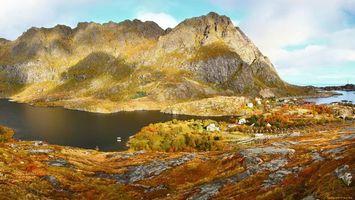 Фото бесплатно горизонт, скалы, высота