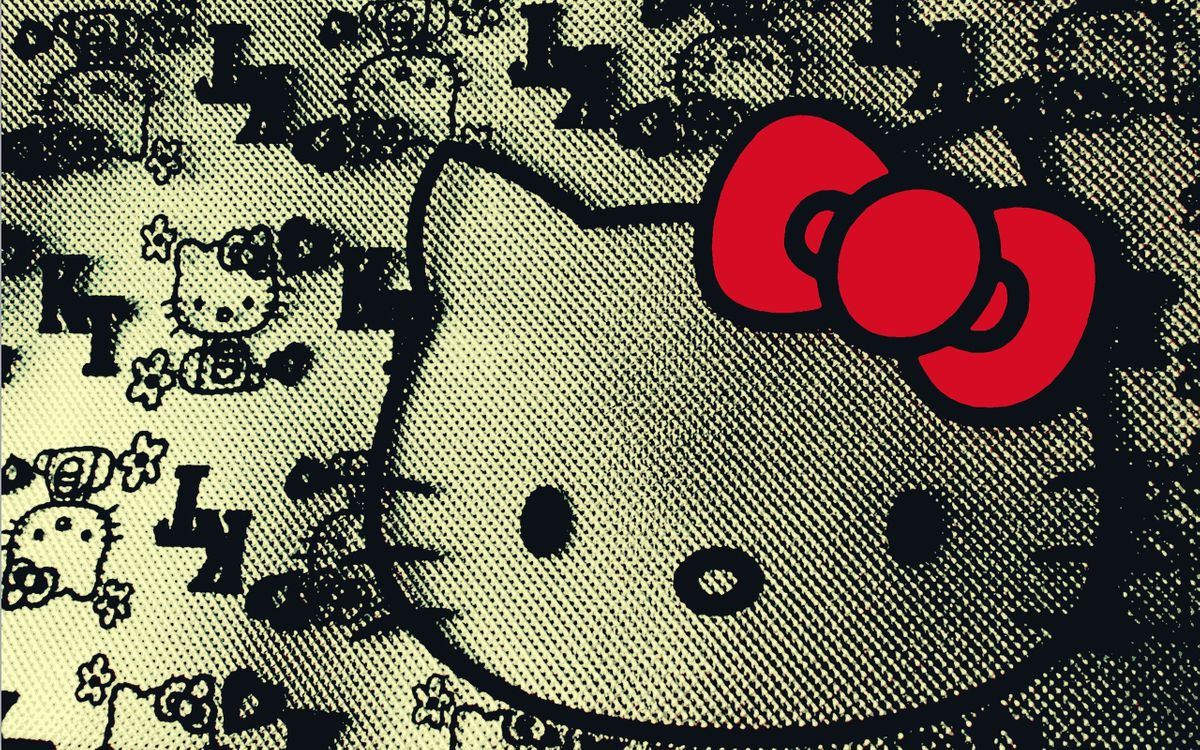 Free photo hello kitty, screensaver, wallpaper - to desktop