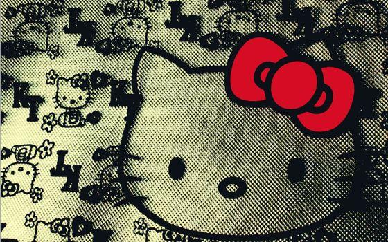 Бесплатные фото hello kitti,заставка,обои,бренд,логотип,фирма,марка,бант,красный,рисунок,разное