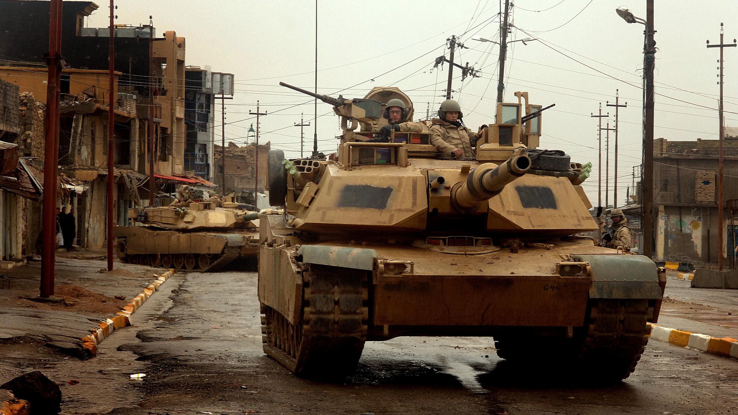 ирак, танки, война