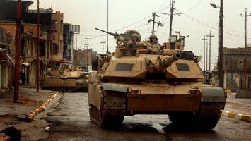 Фото бесплатно ирак, танки, война