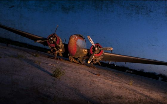 Photo free airplane, old, ancient