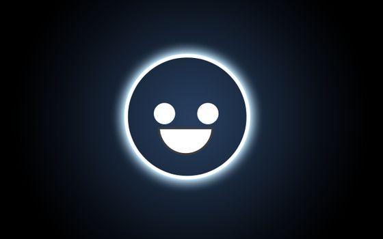 Бесплатные фото смайл,кнопка,глаза,рот,темный,синий,фон,разное