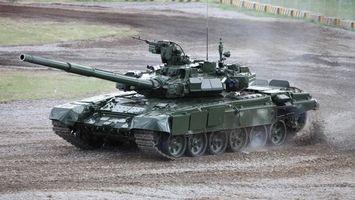 Фото бесплатно танк, пулемет, пушка