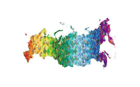 Photo free colors, palette, continent