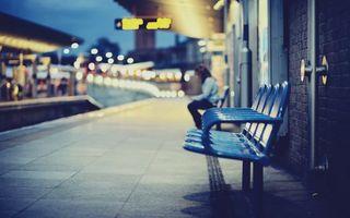 Фото бесплатно вокзал, стулья, дорога